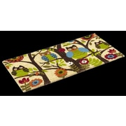 KEMPF Forest Owl Doormat; Rectangle 1'6'' x 2'6''