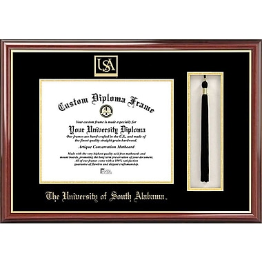 Campus Images NCAA Tassel Box and Diploma Picture Frame; South Alabama Jaguars