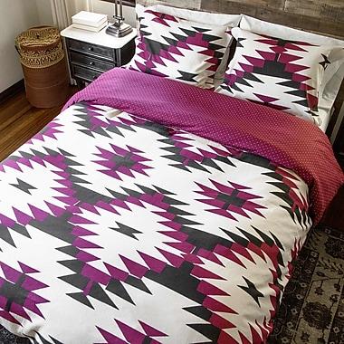 Thread Experiment David Hart 2 Piece Reversible Comforter Set; Full/Queen