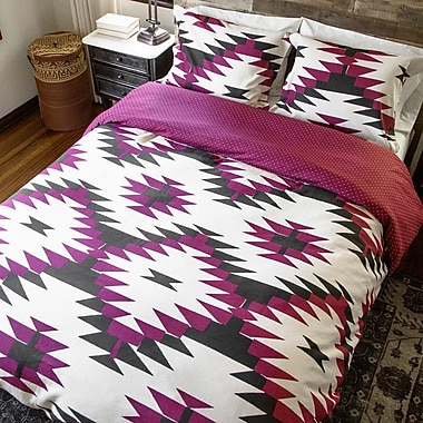 Thread Experiment 2 Piece Reversible Duvet Set; Full/Queen