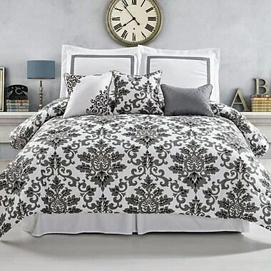 Luxury Home Omni 6 Piece Comforter Set; Queen