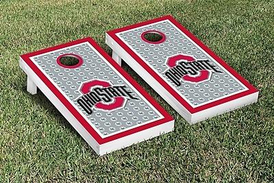 Victory Tailgate NCAA Ohio State OSU Buckeyes Border Buckeye Leaves Version Cornhole Game Set WYF078278335753
