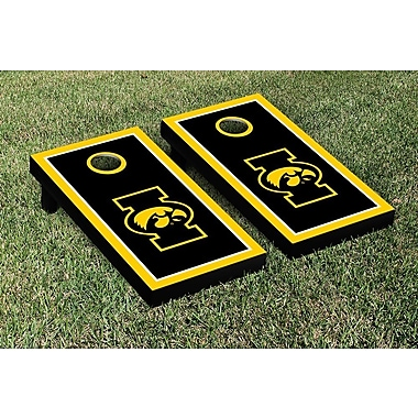 Victory Tailgate NCAA Iowa Hawkeyes Border Alt Version Cornhole Game Set