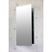 Flawless Contemporary 20'' x 40'' Surface Mount or Recessed Medicine Cabinet