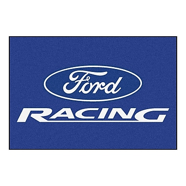 FANMATS Ford - Ford Racing Tailgater Mat; 1'7'' x 2'6''