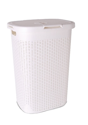 Superior Performance Bushel Laundry Hamper; Beige