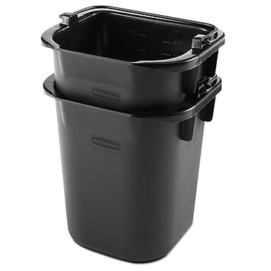 Premier Mounts Executive Heavy Duty Pail (24 Pack); Black