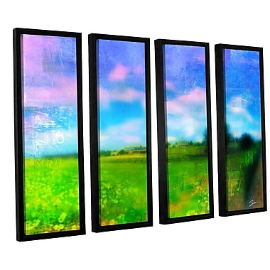 ArtWall 'Homeland' by Greg Simanson 4 Piece Framed Painting Print on Canvas Set