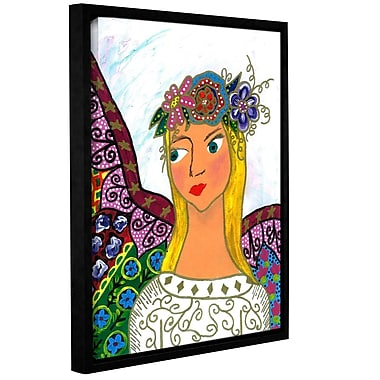 ArtWall 'Angel' by Debra Purcell Framed Painting Print on Wrapped Canvas; 48'' H x 36'' W