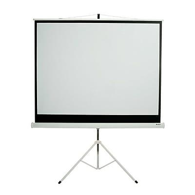 Loch Matte White 84'' diagonal Portable Projection Screen