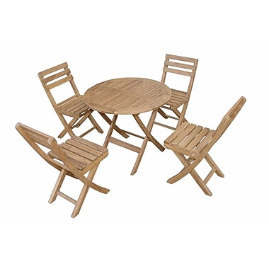 Anderson Teak Chester 5 Piece Dining Set