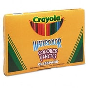 Crayola 3.3 Mm Watercolor Wood Pencil Classpack (240/Box)