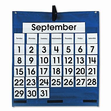 CARSON-DELLOSA PUBLISHING Monthly Calendar 43 Pocket Chart