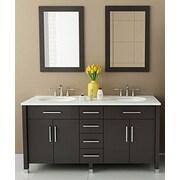 JWH Living Rana 59'' Double Bathroom Vanity Set