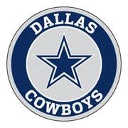 FANMATS NFL Dallas Cowboys Roundel Mat