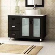 JWH Living Lune 39'' Single Vessel Modern Bathroom Vanity Set