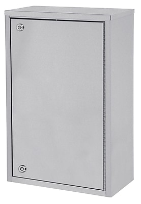 Omnimed Large Single Door Narcotic Cabinet - 4 Shelves - 8