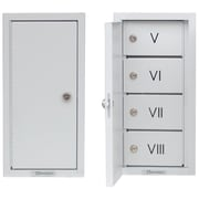 Omnimed Segmented Multi Door Narcotic Cabinet -V-VIII (182181)