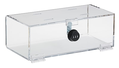 Omnimed Arcylic Refrigerator Lock Box with Combo Lock (183005)