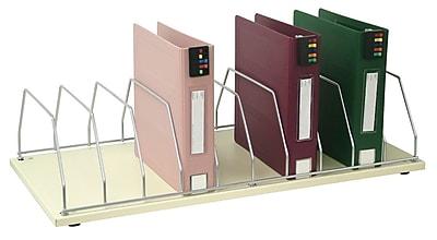 Omnimed Table Top Storage Rack - 10 Slot - Beige (264003-10)