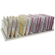 Omnimed Table Top Storage Rack - 16 Slot - Beige (264003-16)