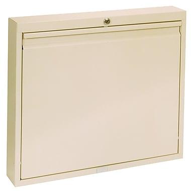 Omnimed Large Deluxe Self Close Wall Desk - Beige (291560-BG)