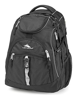High Sierra Access Black Backpack (53671-1041)