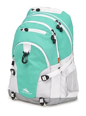 High Sierra Loop Aquamarine/White/Ash Backpack (53646-0783)