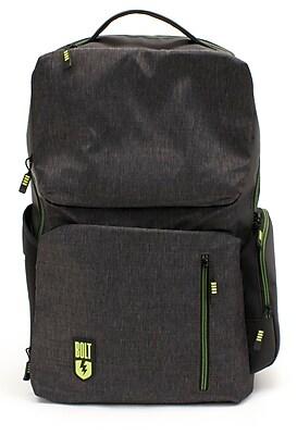 M-EDGE Bolt Backpack w/ Battery, Heather Gray (BPK-B6-PO-HG)
