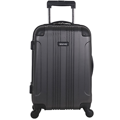 Kenneth Cole Reaction Out of Bounds Lightweight Hardside Carry-on, Charcoal (5705048)