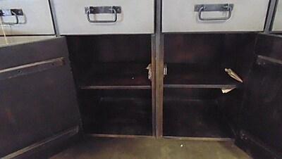 MOTI Furniture Allison 4 Drawer Sideboard