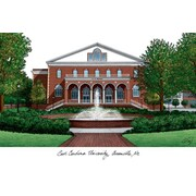 Campus Images NCAA Campus Images Lithograph Photographic Print; East Carolina Pirates