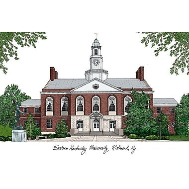 Campus Images NCAA Campus Images Lithograph Photographic Print; Eastern Kentucky Colonels