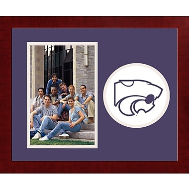 Campus Images NCAA Spirit Picture Frame; Kansas State Wildcats