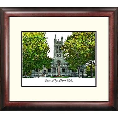 Campus Images Alumnus Lithograph Framed Photographic Print; Boston College Eagles