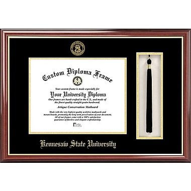 Campus Images NCAA Tassel Box and Diploma Picture Frame; Kennesaw State Owls