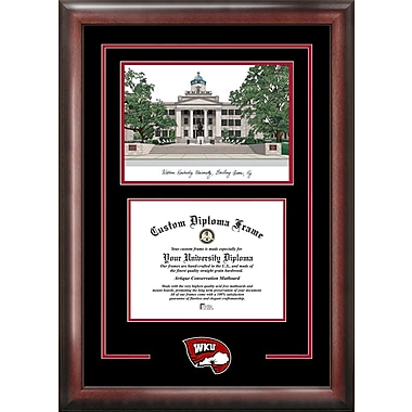 Campus Images NCAA Spirit Graduate Diploma Picture Frame; Western Kentucky Hilltoppers