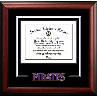 Campus Images NCAA Spirit Diploma Picture Frame; East Carolina Pirates
