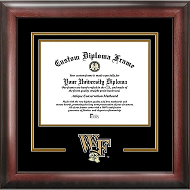 Campus Images NCAA Spirit Diploma Picture Frame; Wake Forest Demon Deacons