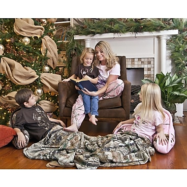 Carstens Inc. Realtree AP Bed Rest Pillow; Pink