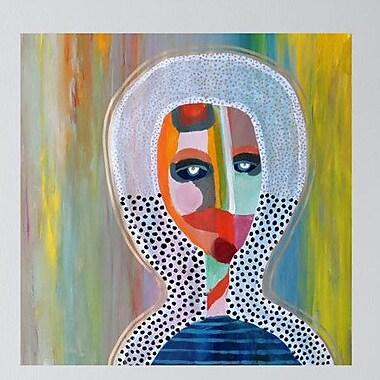 My Wonderful Walls Abstract Portrait Aura 1 Wall Decal; Medium