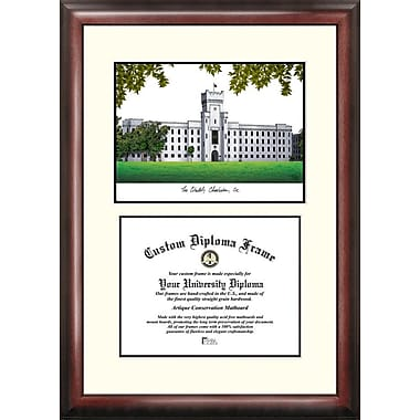 Campus Images NCAA Scholar Diploma Picture Frame; Citadel Bulldogs