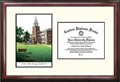 Campus Images NCAA Scholar Diploma Picture Frame; Southern Illinois Salukis