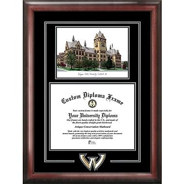 Campus Images NCAA Spirit Graduate Diploma Picture Frame; Wayne State Warriors