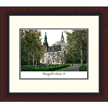 Campus Images NCAA Legacy Alumnus Lithograph Picture Frame; Northwestern Wildcats