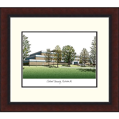 Campus Images NCAA Legacy Alumnus Lithograph Picture Frame; Oakland Golden Grizzlies