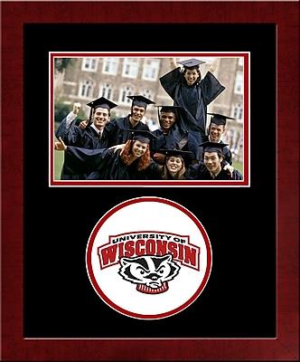 Campus Images NCAA Spirit Picture Frame; Wisconsin Badgers
