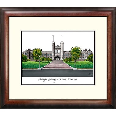 Campus Images Alumnus Lithograph Framed Photographic Print; Washington-St. Louis Bears