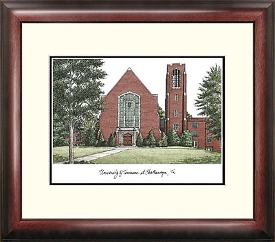 Campus Images Alumnus Lithograph Framed Photographic Print; UTC Mocs