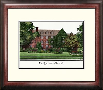 Campus Images Alumnus Lithograph Framed Photographic Print; UWM Panthers